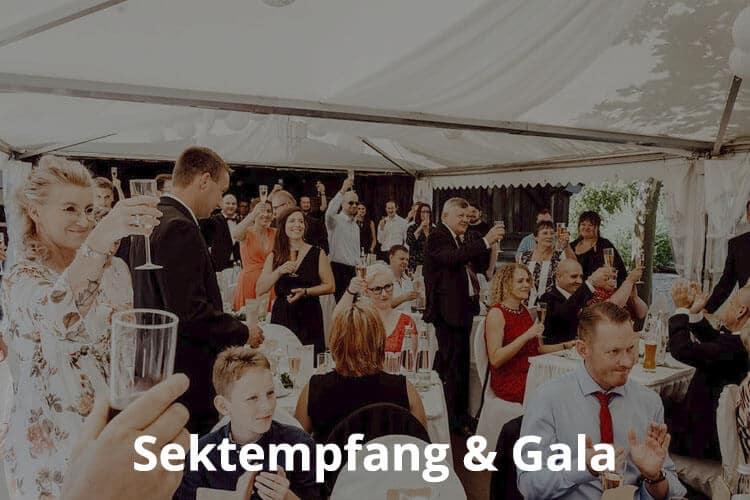 Band für einen Sektempfang oder eine Gala